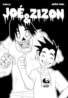 Joé et Zizon : manga couverture