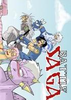 Battle Saga: portada