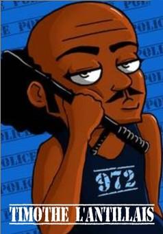 Timothé l'Antillais : comic couverture