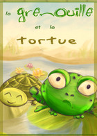 The Frog and the Turtle: couverture