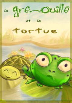 La Grenouille et la Tortue : comic cover