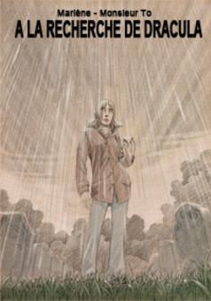 A la recherche de Dracula : comic couverture