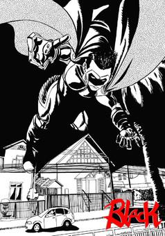 Black : comic portada