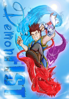 Demon Fist : manga cover