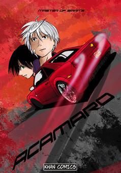 Acamaro : manga cover