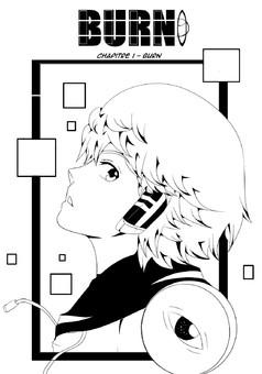 Burn : manga portada