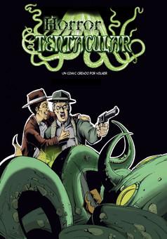 Horror tentacular : comic portada