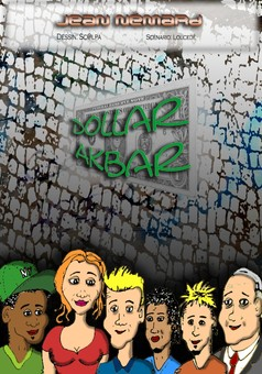Dollar Akbar : comic couverture