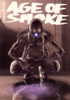 Dhalmun: Age of Smoke : comic cover