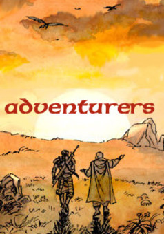 Adventurers : comic couverture