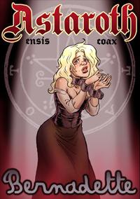 Astaroth y Bernadette: portada