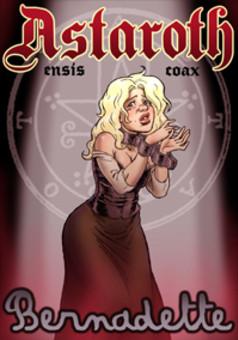 Astaroth y Bernadette : comic portada
