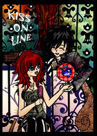 KISS ON LINE: cover