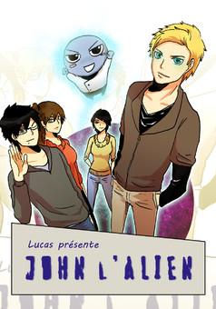 John l'Alien : manga couverture