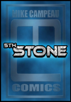 5th Stone : comic cover