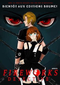 Fireworks Detective : manga portada