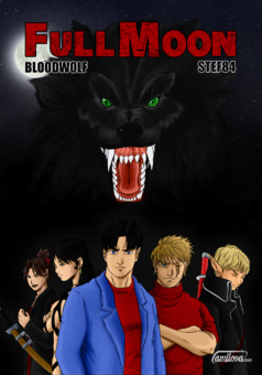 Full Moon : manga cover