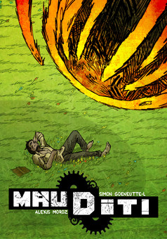 MAUDIT! : comic couverture
