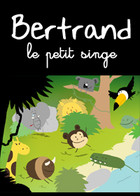 Bertrand le petit singe: cover