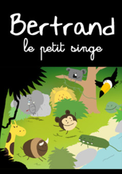 Bertrand le petit singe : comic cover