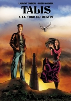 TALIS (1. La Tour du Destin)  : comic couverture