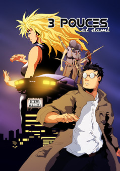 3 Pouces et demi : manga cover
