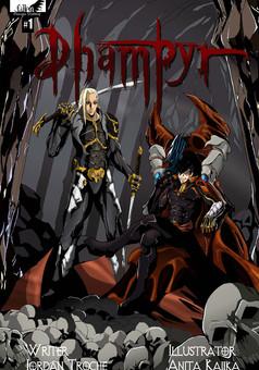 Dhampyr : manga cover