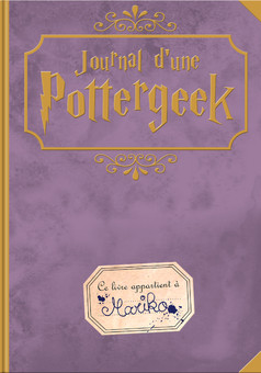 Journal d'une Pottergeek : comic couverture