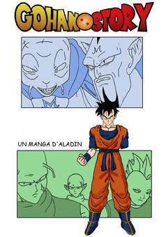 Gohan Story : manga couverture