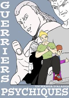 Guerriers Psychiques : manga portada