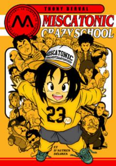 Miscatonic Crazy School : manga portada