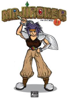 Majiroker : manga cover