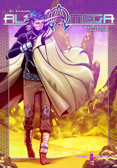 Alpha Omega : comic portada