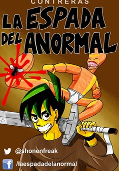 La Espada del Anormal : manga portada