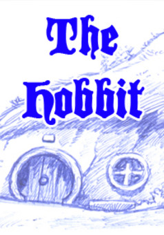 The Hobbit : comic portada