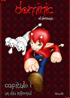 Dominic, the demon: cover
