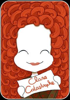Clara Catastrophe : comic portada