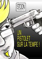 Un Pistolet sur la Tempe: couverture