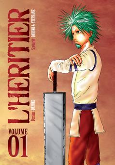 L'héritier : manga cover