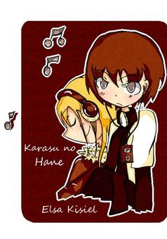 Karasu no Hane : manga couverture