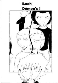 Buch Démon's : manga couverture