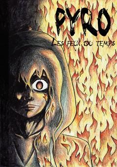 Pyro: Le vent de la trahison : manga couverture