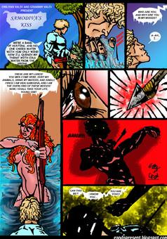 Samodiva's Kiss : comic cover