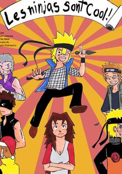 Les Ninjas sont cools : manga cover