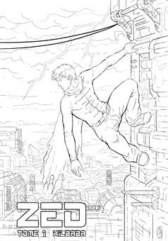 Zed : comic cover