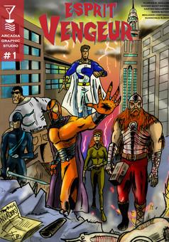 Esprit Vengeur : manga couverture